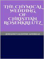 The Chymical Wedding of Christian Rosenkreutz (ebook)