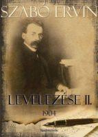 Szabó Ervin levelezése II. kötet (ebook)