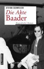 Die Akte Baader (ebook)