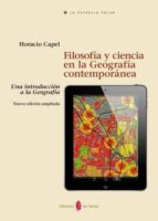 Filosofía y ciencia en la Geografía contemporánea (ebook)