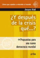 Y después de la crisis… ¿qué?