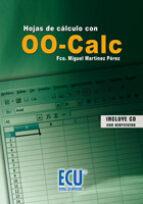 Hojas de cálculo con OO-Calc