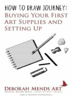 BUYING YOUR FIRST ART SUPPLIES AND SETTING UP