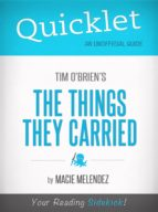 QUICKLET ON THE THINGS THEY CARRIED BY TIM O'BRIEN