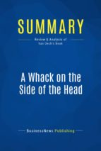 Summary: A Whack on the Side of the Head (ebook)