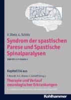 Syndrom der spastischen Parese und Spastische Spinalparalysen
