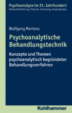 Psychoanalytische Behandlungstechnik (ebook)