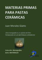 Materias primas para pastas cerámicas