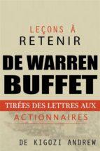 Leçons À Retenir Des Lettres Aux Actionnaires De Warren Buffet (ebook)