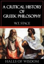 A Critical History of Greek Philosophy [Halls of Wisdom] (ebook)