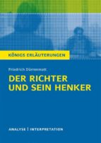 Der Richter und sein Henker von Friedrich Dürrenmatt. (ebook)