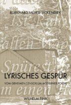 Lyrisches Gespür (ebook)