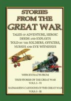 TRUE STORIES from the GREAT WAR - Soldiers Stories and Observations during WWI (ebook)