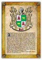Apellido Buill / Origen, Historia y Heráldica de los linajes y apellidos españoles e hispanoamericanos