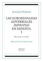 Las subordinadas adverbiales impropias en español, I (ebook)