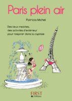 PETIT LIVRE DE - PARIS PLEIN AIR