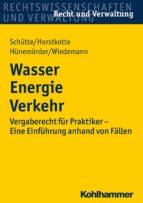 Wasser Energie Verkehr (ebook)