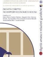 Dignità e diritto nei rapporti economico-sociali (ebook)