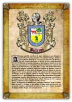 Apellido Buitrago / Origen, Historia y Heráldica de los linajes y apellidos españoles e hispanoamericanos