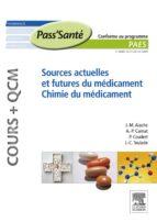 SOURCES ACTUELLES ET FUTURES DU MÉDICAMENT - CHIMIE DU MÉDICAMENT (COURS + QCM)