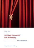 Musikland Deutschland? Eine Verteidigung (ebook)