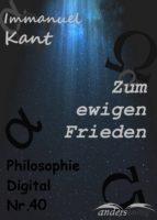Zum ewigen Frieden (ebook)