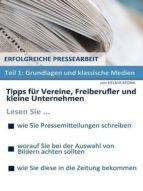 ERFOLGREICHE PRESSEARBEIT - TEIL 1