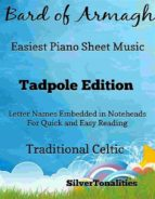 BARD OF ARMAGH EASIEST PIANO SHEET MUSIC