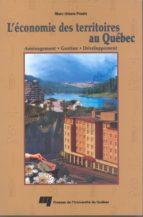 L'économie des territoires au Québec (ebook)
