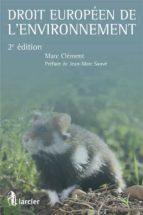 Droit européen de l'environnement (ebook)