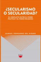 ¿Secularismo o secularidad? (eBook-ePub) (ebook)
