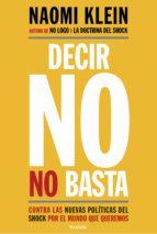 DECIR NO NO BASTA