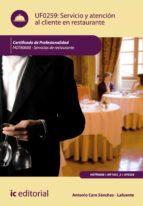 SERVICIO Y ATENCIÓN AL CLIENTE EN RESTAURANTE. HOTR0608