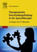 Therapeutische Entscheidungsfindung in der Sprachtherapie (ebook)