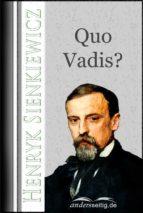 Quo Vadis? (ebook)