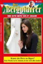 Der Bergpfarrer 215 – Heimatroman (ebook)