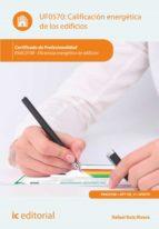 Calificación energética de los edificios. ENAC0108  (ebook)