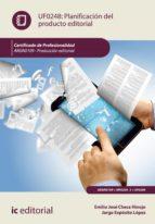 Planificación del producto editorial. ARGN0109 (ebook)