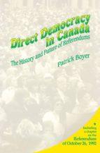 Direct Democracy in Canada (ebook)