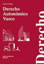 DERECHO AUTONÓMICO VASCO