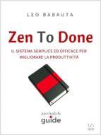 Zen To Done (ebook)