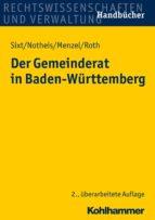 Der Gemeinderat in Baden-Württemberg (ebook)