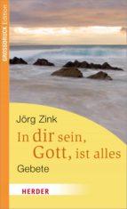 In dir sein, Gott, ist alles (ebook)