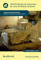 Manejo de maquinaria de corte de bloques de piedra. IEXD0108
