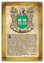 Apellido Bujons / Origen, Historia y Heráldica de los linajes y apellidos españoles e hispanoamericanos