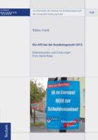 Die AfD bei der Bundestagswahl 2013 (ebook)