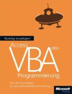 Richtig einsteigen: Access 2013 VBA-Programmierung (ebook)