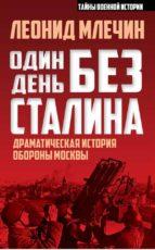 Один день без Сталина. Драматическая история обороны Москвы (ebook)