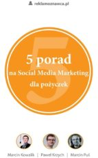 5 porad na Social Media Marketing dla po?yczek (ebook)