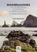 ENUMERACIONES DE LA PRIORIDAD, LA BONDAD, LA BENEVOLENCIA Y EL INMATERIALISMO PARTE PRIMERA